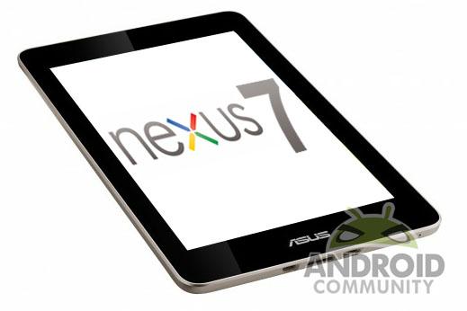 Description: Tablet … Google Nexus 7 By Asus
