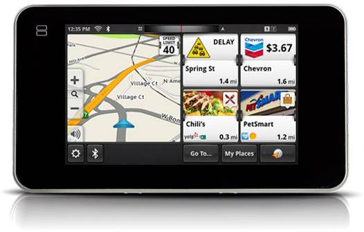 Magellan Smart GPS's interface