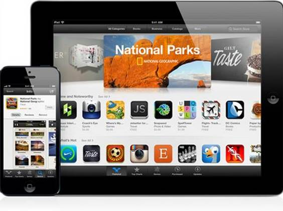 Apple's iOS operating system and App Store combination quickly tablet PCs following its rapid rise to prominence in the smartphone industry.