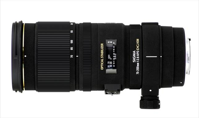 Description: Sigma 70-200mm f/2.8 EX DG OS HSM