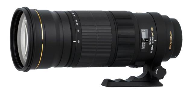 Description: Sigma 120-300mm f/2.8 EX DG OS HSM