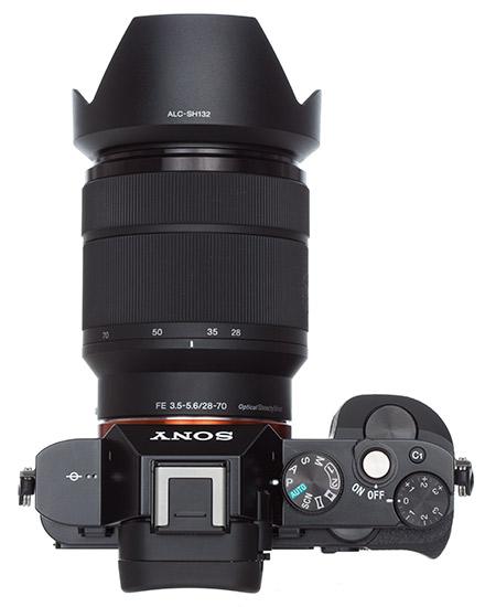 Description: Sony Alpha 7S top view