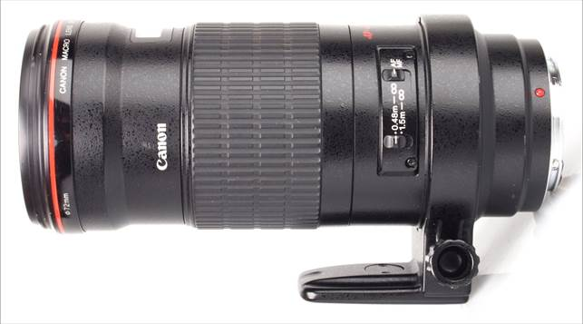 Description: Canon EF 180mm f/3.5L Macro USM