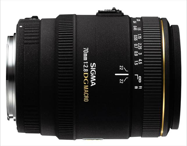 Description: Sigma 70mm f/2.8 EX DG Macro