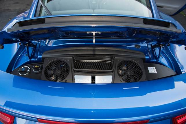 The engine benefits from direct injection, twin turbochargers and an aluminium block and heads