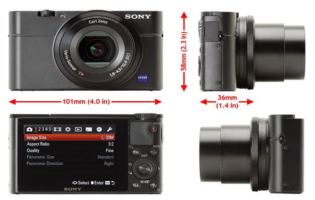 Description: Making a camera exciting three times consecutively is a rare feat and with the new RX100, Sony has achieved this. The camera is a good lowlight shooter, with a fast 24–70 lens, a 180° tilting LCD, an EVF and a bounce fl ash all the while being pocketable and discreet.