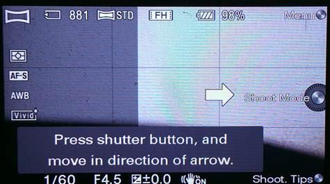 Description: 3D Sweep Panorama and Sweep Panorama