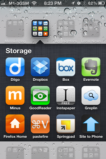 Description:   Apps and services like Drop box…all provide ways to upload files to the cloud that can then be accessed using an app on your iPad or iPhone.
