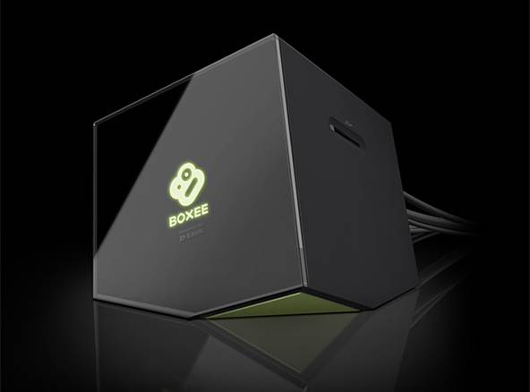 Description: A DLNA media streamer such as D-Link's wackily styled Boxee may support more types of media than an Apple TV