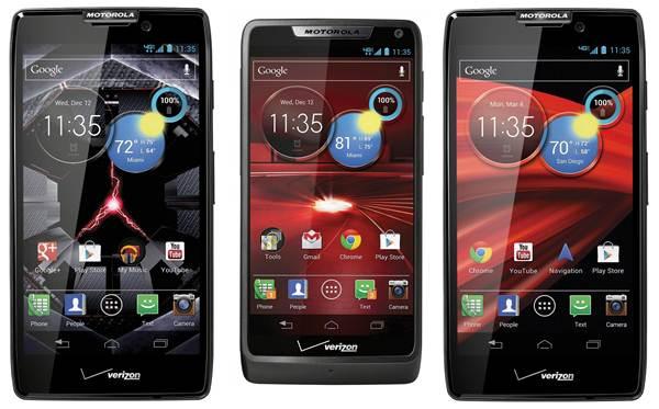"Description: Motorola RAZR MAXX - ""Being The World's Lightest"""