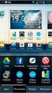 Description: Long-pressing any home screen on the LG Optimus 4X HD allows you to add apps, widgets, shortcuts or change wallpapers. Doing the same on the stock Android 4.0 will launch the app drawer instead.