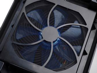 Description: , it benefits little from the 140mm fan below, which is mounted centrally.