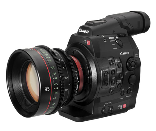 Description: Canon also recently announced the C500, which raised the bar with its support for 4K
