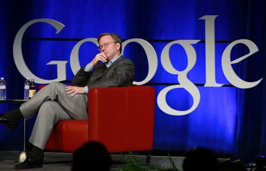 Description: Google CEO Eric Schmidt