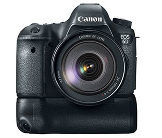 Description: Canon's 6D budget full-frame DSLR comes in at the same price as Nikon's