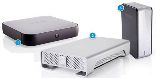 Description: The WD and G-Drive are both excellently designed to match your Mac, with their all-metal casings and sleek, contoured lines.