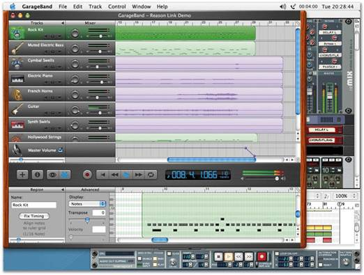 Description: Refine your sound using GarageBand's Mixing Tools