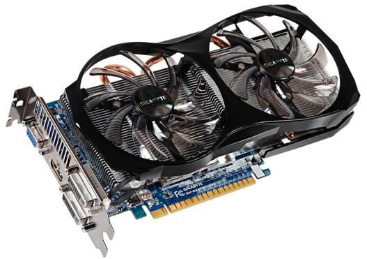 Gigabyte GeForce GTX 650 Ti OC