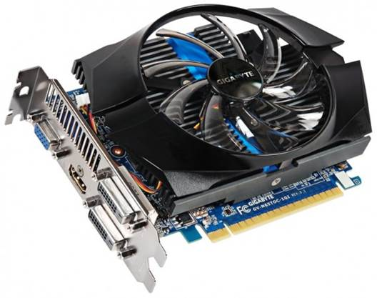 Gigabyte has also doubled the card's RAM allotment over the reference design to 2GB.