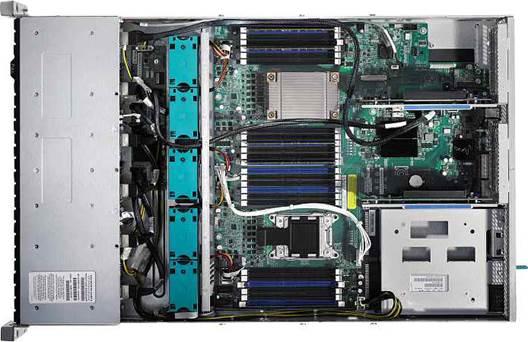 The CyberServe XE5-R224 (inside)