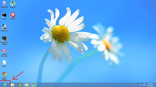 Start button has been removed from Windows 8