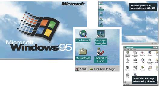 Windows 95 and the Start Button