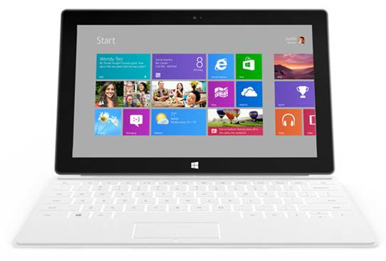 Description: For hardware, the Surface RT packs an Nvidia Tegra 3 part clocked at 1.4GHz, 2GB of LP-DDR3, 32GB (or 64GB) of storage.